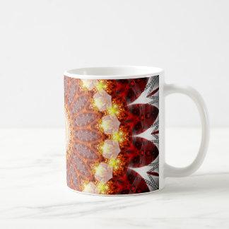 Mandala ement fire created by Tutti Coffee Mug