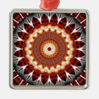 Mandala ement fire created by Tutti Metal Ornament