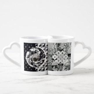 Mandala & Endless Knot Couple Mugs