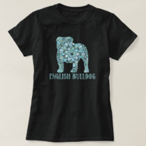 Mandala English Bulldog T-Shirt