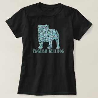 Mandala English Bulldog T-Shirt