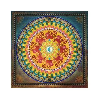 Mandala Epiphaneia Canvas Prints