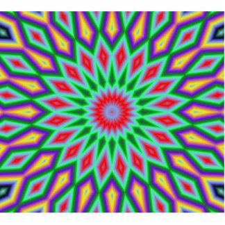 Mandala Fotoescultura Vertical
