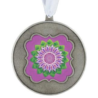 Mandala espiral de la flor