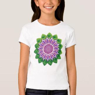 Mandala espiral de la flor polera