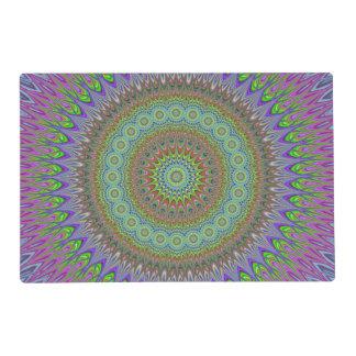Mandala explosion placemat
