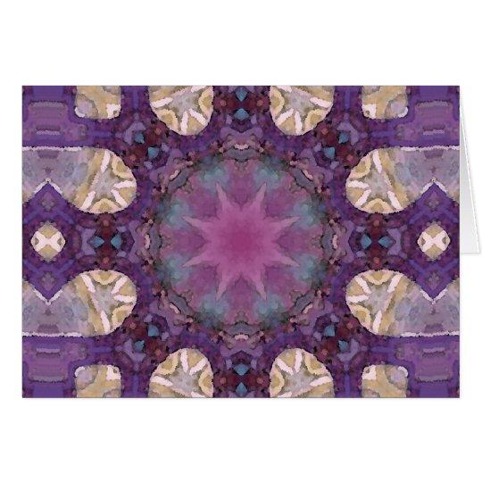 Mandala 'Fairy' Card