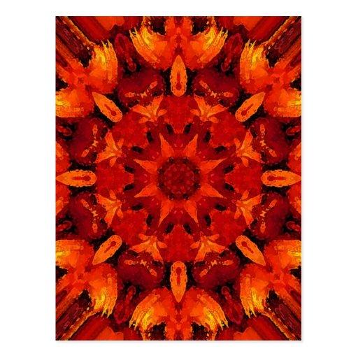 Mandala 'Fire Postales