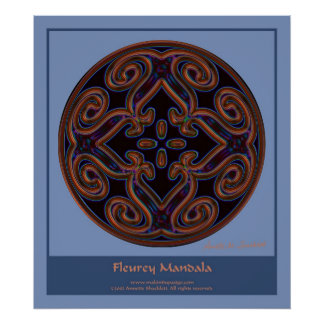 Mandala Fleury Impresiones