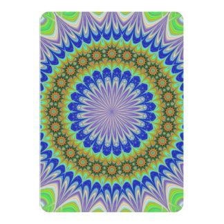 Mandala flower card