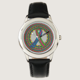 Mandala for Metastatic Breast Cancer Awareness Watch