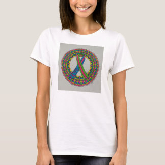 Mandala for Metastatic Breast Cancer T-Shirt