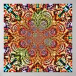 Mandala Funnels 3 Poster