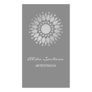 Mandala Gold Double-Sided Standard Business Cards (Pack Of 100)