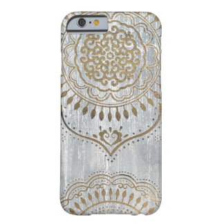 Mandala Gold Design Barely There iPhone 6 Case