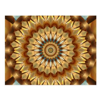 Mandala Gold no. 1 created by Tutti Postcard