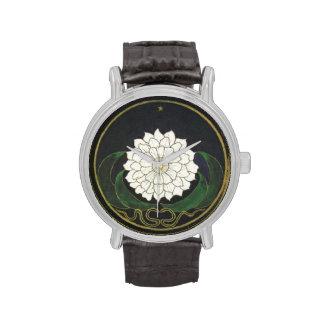 Mandala Golden Flower Wristwatch