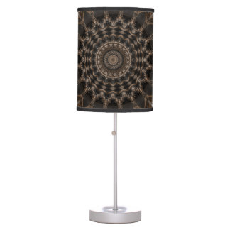 mandala grey flower created by Tutti Table Lamp