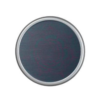 Mandala gris y púrpura altavoz