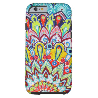 Mandala handmade design tough iPhone 6 case