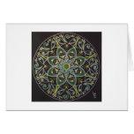 Mandala Healing energyflow Grußkarte