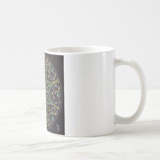 Mandala Healing energyflow Kaffee Haferl