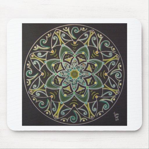 Mandala Healing energyflow Mousepad