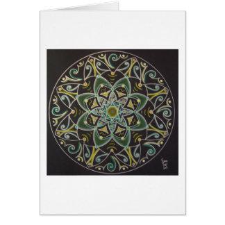 Mandala Healing energyflow Tarjeta