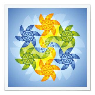 Mandala Heaven's gate Card