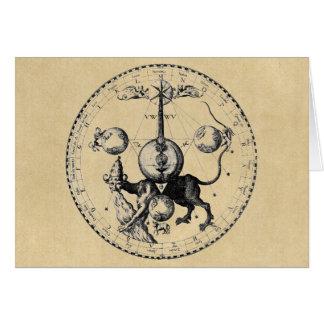 Mandala hermética de Qabalah Felicitacion