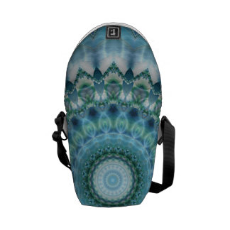 Mandala ice magic created by Tutti Courier Bags