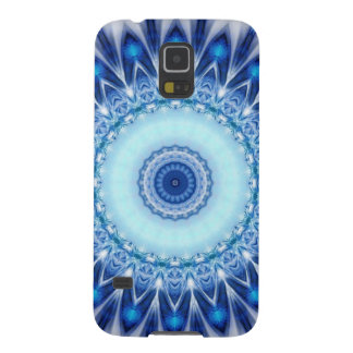 Mandala iceblue created by Tutti Galaxy S5 Cover