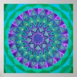 Mandala ideal verde posters