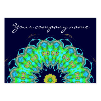 mandala in colors large business cards (Pack of 100)