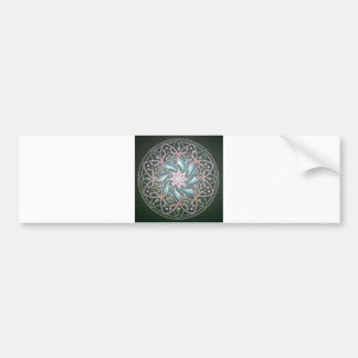 Mandala in the depths of the sea bumper sticker