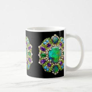 Mandala Jeweled Taza