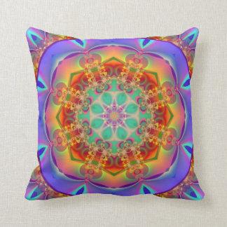 Mandala Kaleidoscope Design MF04 Throw Pillow
