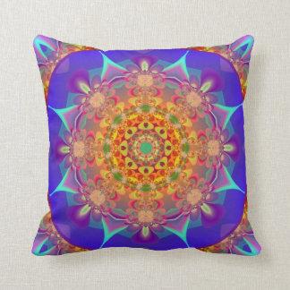 Mandala Kaleidoscope Design MF08 Throw Pillow