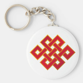 Mandala Karma Buddhism Eternal Knot Keychain