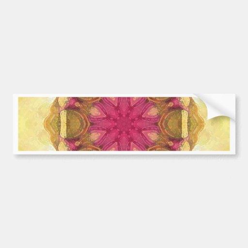 Mandala 'Kathmandu' Bumper Stickers