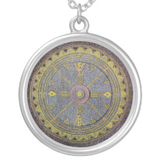 Mandala ll Sterling Silver Necklace