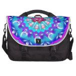 Mandala Lotus rosado Bolsas Para Portatil