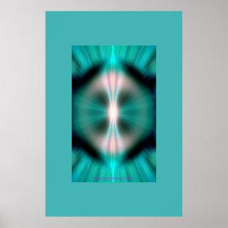 Mandala Magic Flesh Poster