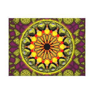Mandala Manifestação Impressão Em Canvas