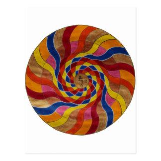 "Mandala mantra ""COM mani peme hung "" Post Cards"