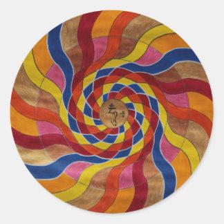 """Mandala Mantra """"Om mani peme hung Etiquetas"""