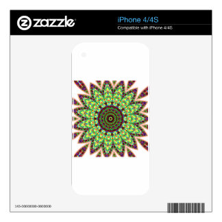Mandala max decals for the iPhone 4S