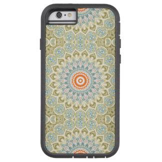 Mandala Medallion in Green, Blue and Orange Tough Xtreme iPhone 6 Case