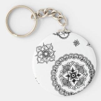 Mandala Medley Keychain