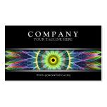 Mandala moderna del ojo de la flor tarjeta de negocio